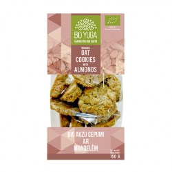 BY Oat cookies with almonds