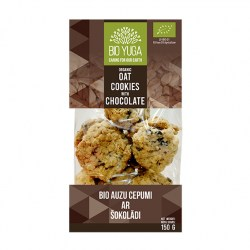 BY Oat cookies with chocolate