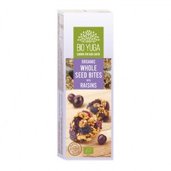 BY Whole seed bites with raisins