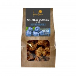 Oat cookies 300g with blueberries