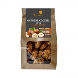 Oat cookies 300g with hazelnuts s